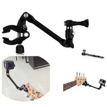 For GoPro Accessories Jam Camera Adjustable Music Mount Clip Clamp Bracket For Gopro Hero/ Xiao mi / 4k Guitar Drum Instrument