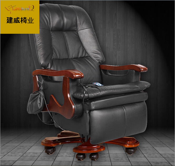 Incredible Us 6075 16 9 Off Upgraded Version Boss Chair 100 Genuine Leather With Massage Function O Ffice Computer Chair President Competent Manager Chair In Machost Co Dining Chair Design Ideas Machostcouk