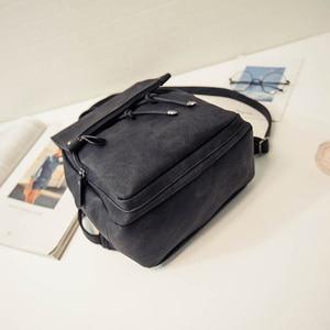 Image 2 - 2020 yeni varış yaz kadın sırt çantaları tuval okul çantaları genç kızlar için bayan seyahat sırt çantası siyah pembe okul çantaları