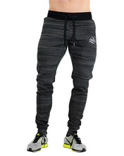 Autumn Winter Men Running Sport Pants 2018 Male Sports Trousers Jogging Jogger Plus Large Size Red Black Elastic 2XL