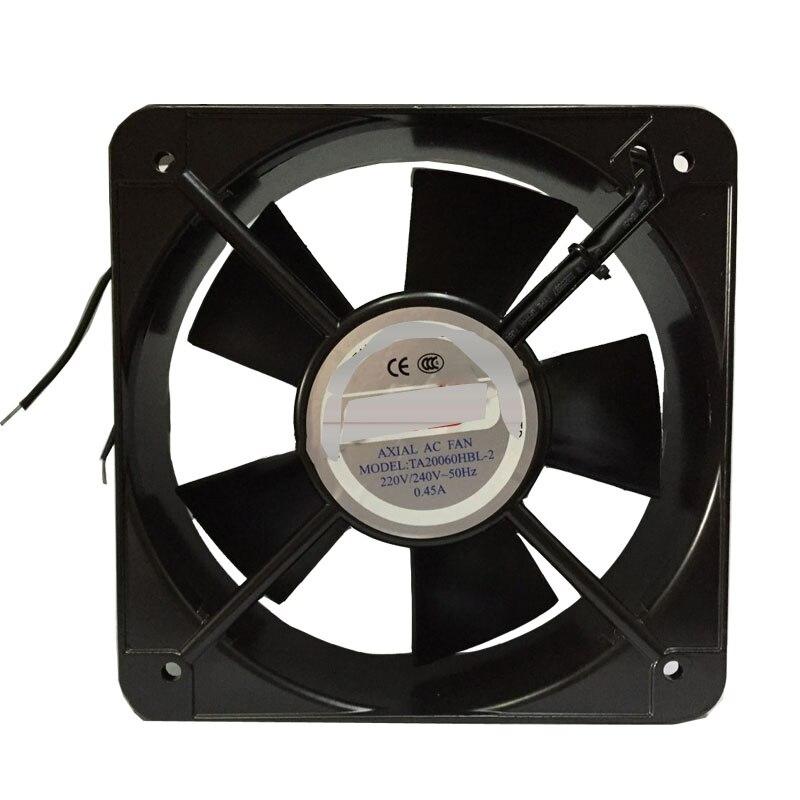 Fro CNDF TA20060HBL 2 200*200*60 мм AC220V 0.45A осевой охлаждающий вентилятор