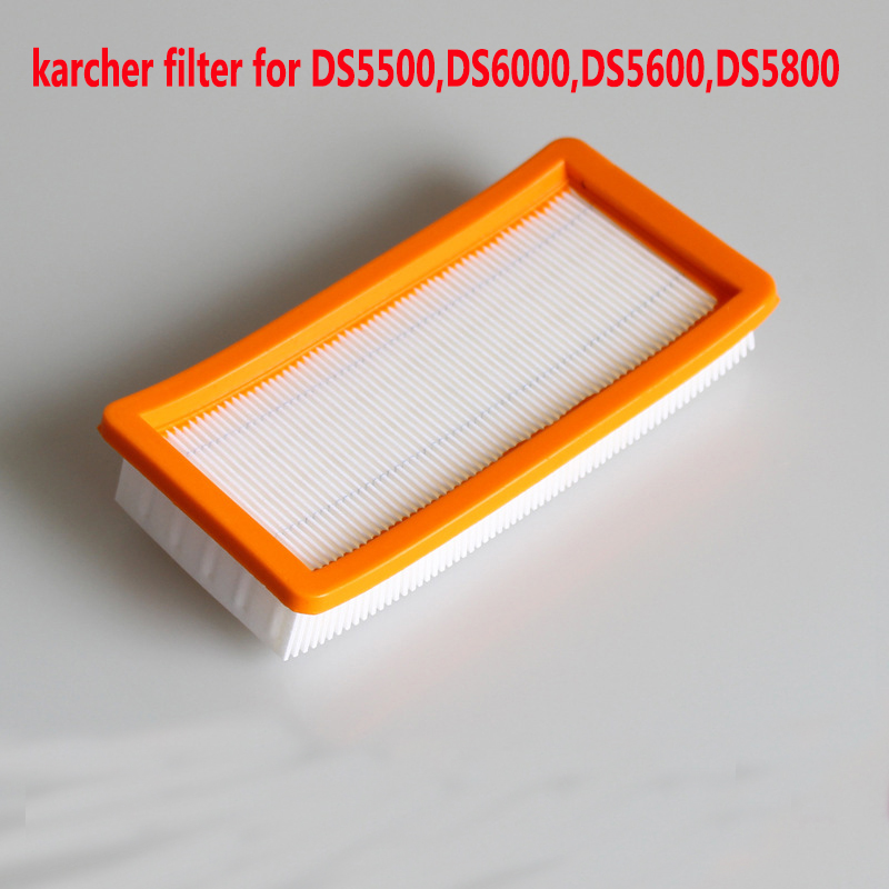 1 pcs Washable karcher filter for DS5500,DS6000,DS5600,DS5800 robot vacuum cleaner Parts Karcher 6.414-631.0 hepa filters china post 6 pcs lot air hepa filters for karcher 6 414 631 0 ds series ds5500 ds5600 ds56000 ds5800 ds6000 parts replacement
