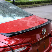 New style design for toyota Camry 2017 2018 rear trunk tail Spoiler ABS  Wing Decoration Cove Auto Spoilers by primer paint new design for toyota camry 2018 high quality and hardness abs material spoiler by primer or diy color paint camry spoilers