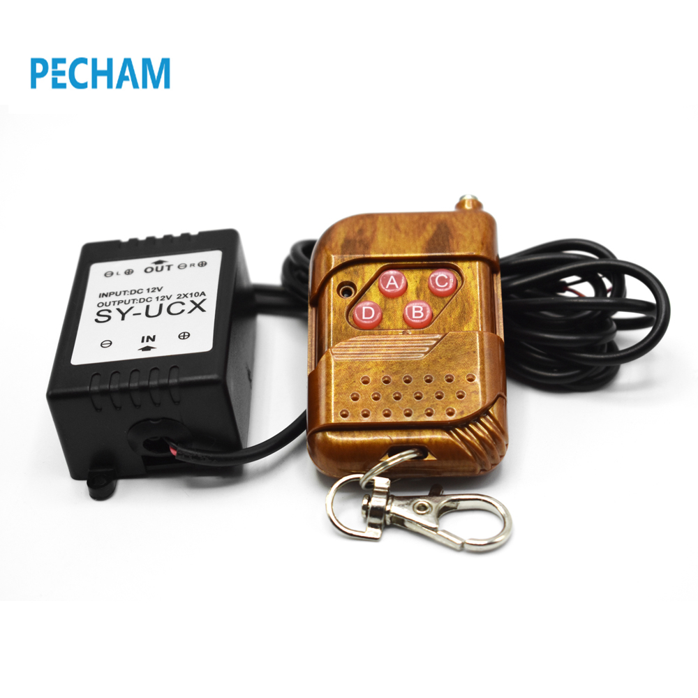 Hot 1X 12V Wireless Remote Control Module W/Strobe Flash Stroboscopes For Car Auto Vehicle Trucks Bulbs Light LED Strips