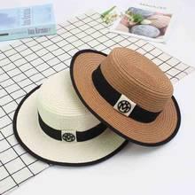 Deportes al aire libre sombreros de sol ocio viajes vacaciones cubo tapas  Vintage tejer sombrero de paja de moda deportes playa . 10ed7184998