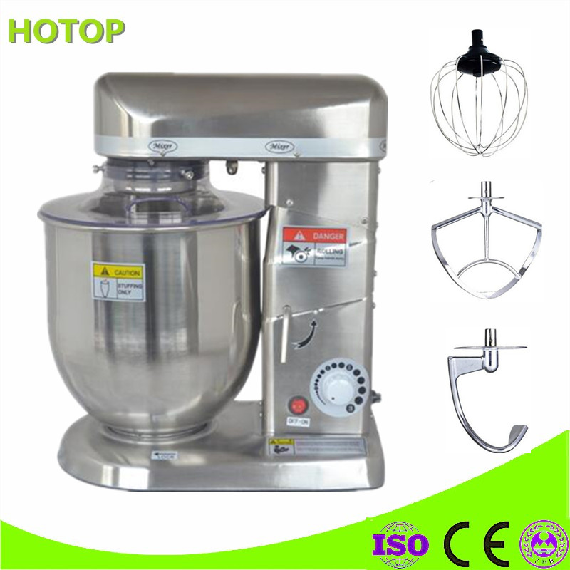 Commercial Electric Stand Food Mixer Planetary Cooking Mixer Home Egg Beater Dough Mixer Machine Heavy Duty free shipping quality multifunctional stand mixer 20l 30l food mixer machine dough mixer machine planetary mixer