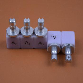 5 PCS HT LT C14 e.max Lithium Disilicate Blocks Dental Glass Ceramic Discs for Making Dental Bridges