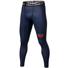 Обтягивающие спортивные штаны для мужчин, компрессионные штаны для мужчин, модные леггинсы для бега, мужские 3D штаны для фитнеса, эластичные брюки с изображением Человека-паука