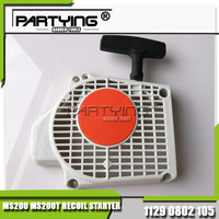 Partying OEM Chainsaw Replacement Parts Kompatibel 020T MS200 MS200T Recoil Starter Montage Neu 1129 080 2105