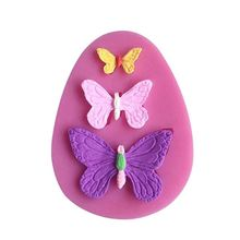 Butterfly Silicone Mold Liquid Silica Gel Designer 3d Wall Panel Making UV Resin Clay concrete molds