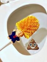 Donald Trump Toilet Brush Make Toilet Great Again Funny Gag Gift The Perfect Toilet Bowl Brush Presidential Present For Friend 1