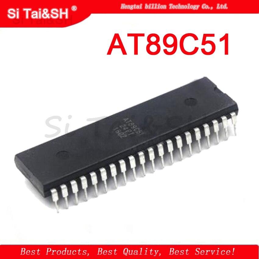 1PCS  AT89C51  AT89C51-24PI 851 DIP-40