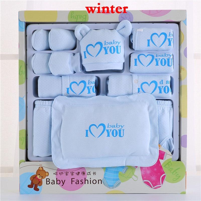 Emotion Moms Newborn Baby Clothing Set Brand Baby Boy/Girl Clothes Set 100% Cotton New Born Baby Clothes Underwear 22PCS/set