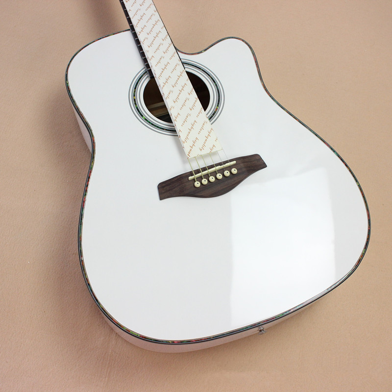 High quality guitars 41 inch high quality Acoustic Guitar Rosewood Fingerboard guitarra with guitar strings  lin king hot sale women snow boots lace up flock solid high top ankle boots round toe thick sole low heel warm wintrer boots