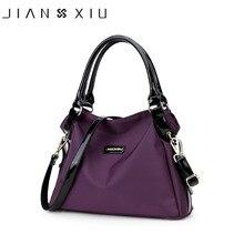 JIANXIU Brand Fashion Handbags Women Messenger Bags Bolsa Feminina Sac a MainNylon Waterproof Small Shoulder Crossbody Tote Bag