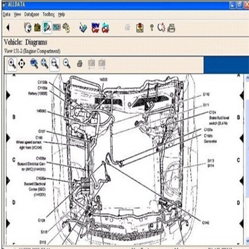 Laptop auto diagnose software alldata 10,53 Mitchell ondemand ...