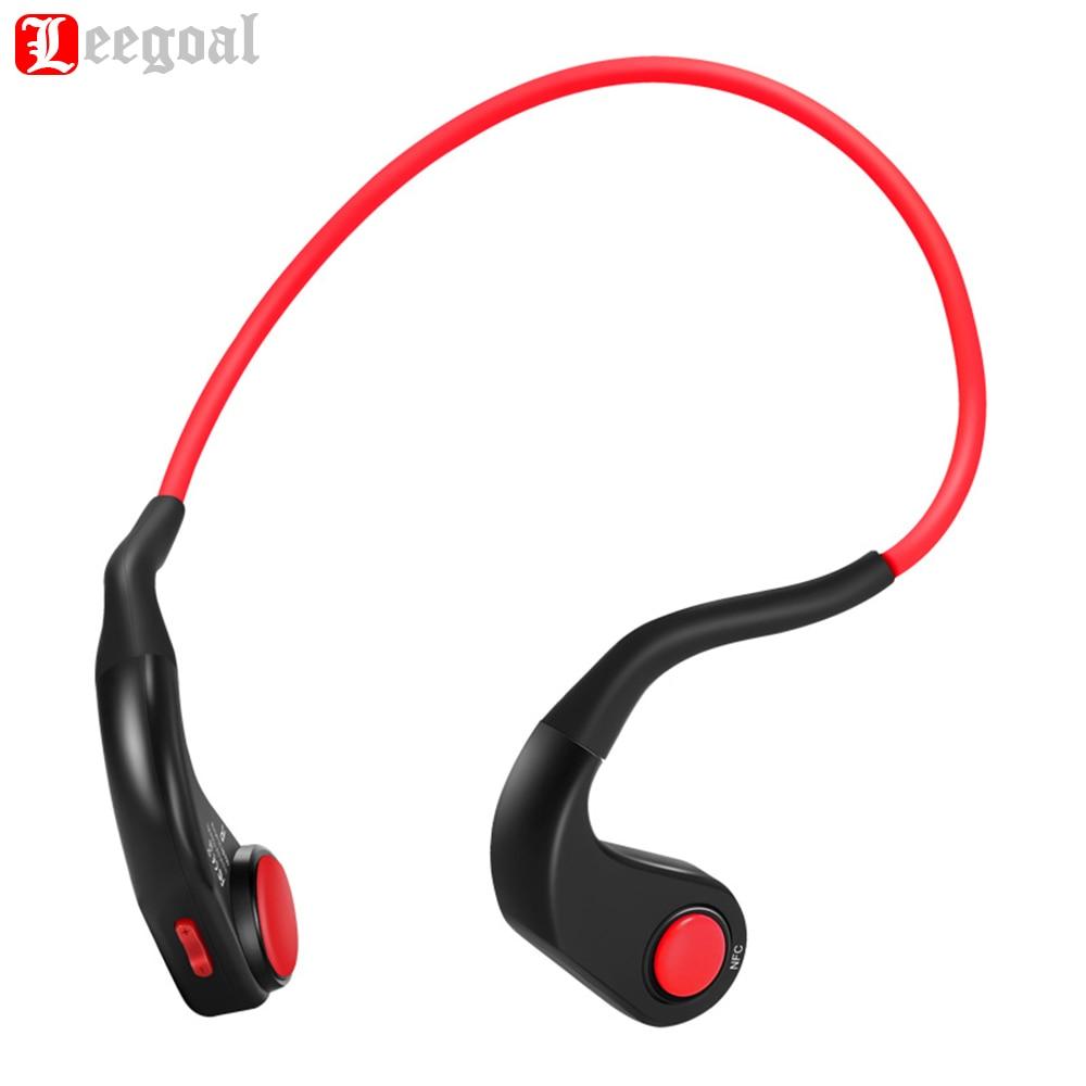 BT-DK Drahtlose Kopfhörer Bluetooth Knochen Leitung Headsets Wasserdichte Sport Kopfhörer Noise-Reduktion mit Mic für Telefon PC