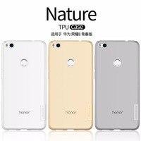 For Huawei Honor 8 Lite 2017 NILLKIN Ultra Thin Transparent Nature TPU Case For Huawei Nova