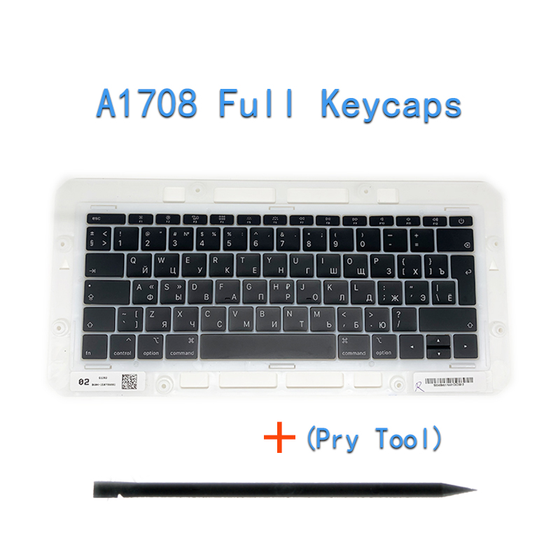"""Image 3 - Original A1706/A1707/A1708 Russian Keycaps For Macbook Pro/Air Retina 13"""" 15"""" A1932/A1990/A1989 RU Keys Replacement Keyboard-in Replacement Keyboards from Computer & Office on"""
