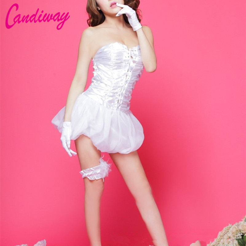 Candiway New Arrival Dress Puff Dresses Sleeveless Cute Princess Women Gown Chiffon Summer Style Special Occasion Mini Dresses
