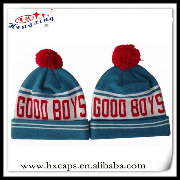 5cf82a97 custom blank fashion unisex handmade knitted winter beanie hats with top  ball