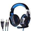 Kotion each g2000 wired gaming headset jogo headphone com microfone led com cancelamento de ruído do fone de ouvido fones de ouvido para computador pc
