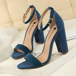 BIGTREE/обувь на высоком каблуке; пикантные женские туфли-лодочки; свадебные туфли; женская летняя обувь на каблуке; женские модные босоножки н...