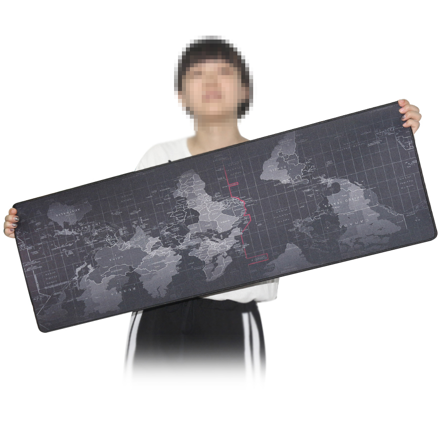 Especially Big Large Size Mouse Keyboard Pad Plain
