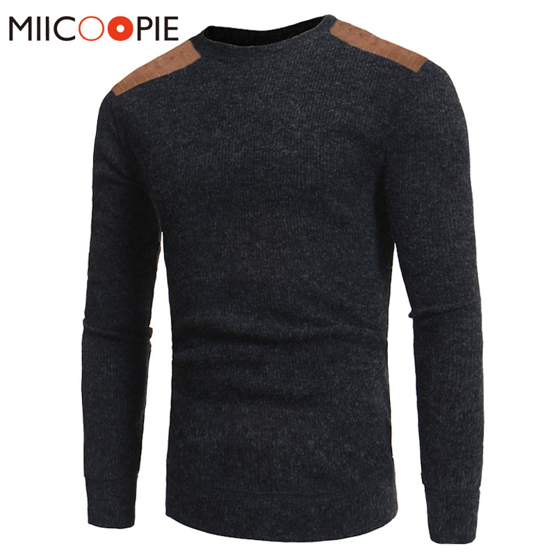 Pullover Sweater Men 2018 Autumn Winter Fashion Brand Clothing O-Neck Slim Fit Men Cotton Pullover Knitted Sweater XXXL