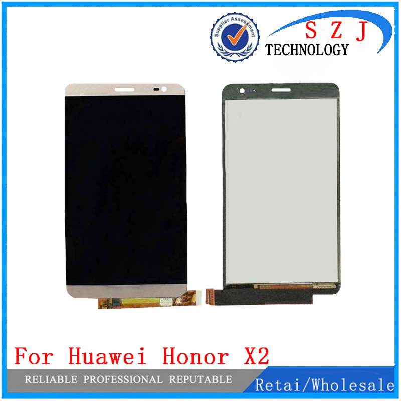 New For Huawei Honor X2 MediaPad X2 GEM-703L LCD Display + Touch Screen Digitizer Glass Sensor Assembly Free Shipping lcd screen display digitizer touch panel glass assembly for huawei honor 3c 100% original new white black tools free 3pcs lot