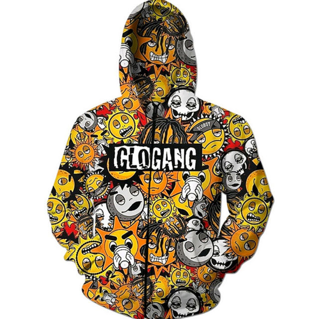 Anime hoodies men fashion hooded sweatshirts digital printing anime hoodies men fashion hooded sweatshirts digital printing cartoon glo gang 3d tops zipper outerwear hip publicscrutiny Images