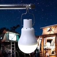 POTENCO Batteria Solare Lanterna Lampada di Campeggio Esterna HA CONDOTTO Le Torce Elettriche Luci Tenda Turistica Per La Pesca Accendino USB Portatile Lampe