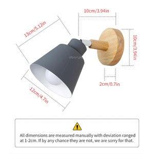 Image 5 - ไม้ไฟข้างเตียงโคมไฟห้องนอนโคมไฟติดผนังสำหรับห้องครัวร้านอาหารโมเดิร์นโคมไฟผนัง Nordic Macaroon sconces