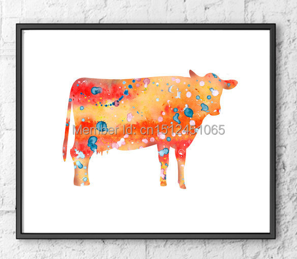 Cow Wall Art compare prices on art cows- online shopping/buy low price art cows