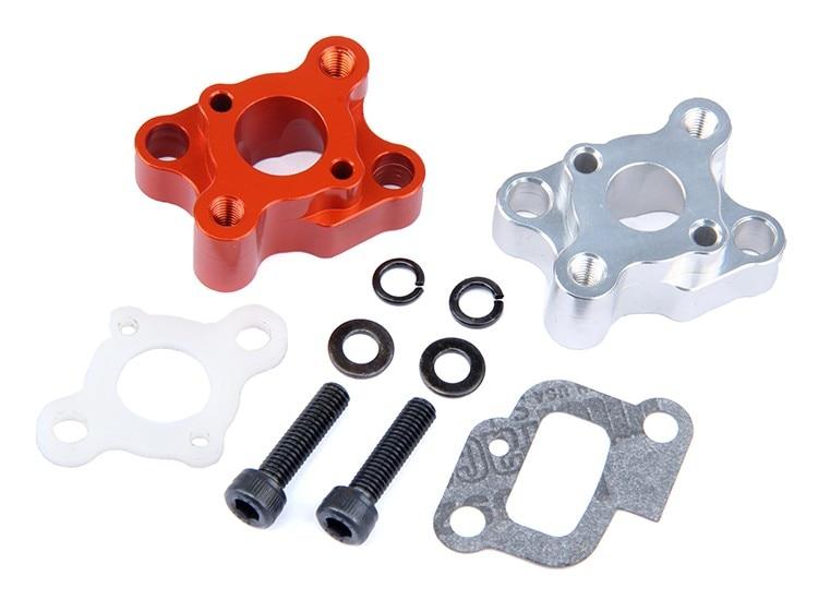 CNC intake manifold set for 23-30.5cc Gas Engine Zenoah CY HPI Baja 5b 5t 5sc losi 5ive-T Rovan King Motor