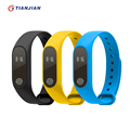 M2 Smart Bracelet Heart Rate Wristband Passometer Sleep Tracker Waterproof Bluetooth Smart Band For Android IOS PK Mi Band 2