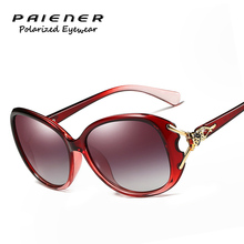 2017 Luxury Ladies Designer Fashion Vintage HD Polarized Sunglasses Women Driving glasses uv400 Eyewear font b
