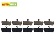 AUTOWAY bicycle brake Organic Disc Brake Pads for Avid XO Trail VX859C Disc Pad Organic mountain bike parts wholesale(China)