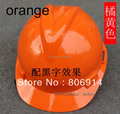Free shipping 30pcs/lot V style ABS high strength antisquashy smash-proof construction safety helmet hard hat