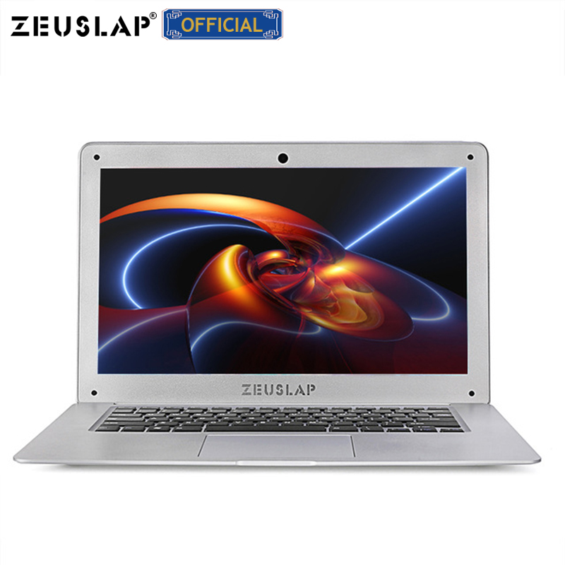 ZEUSLAP-A8 Plus 14inch 8GB Ram+256GB SSD+1TB HDD Ultrathin Intel Quad Core Fast Boot Windows 10 System Laptop Notebook Computer