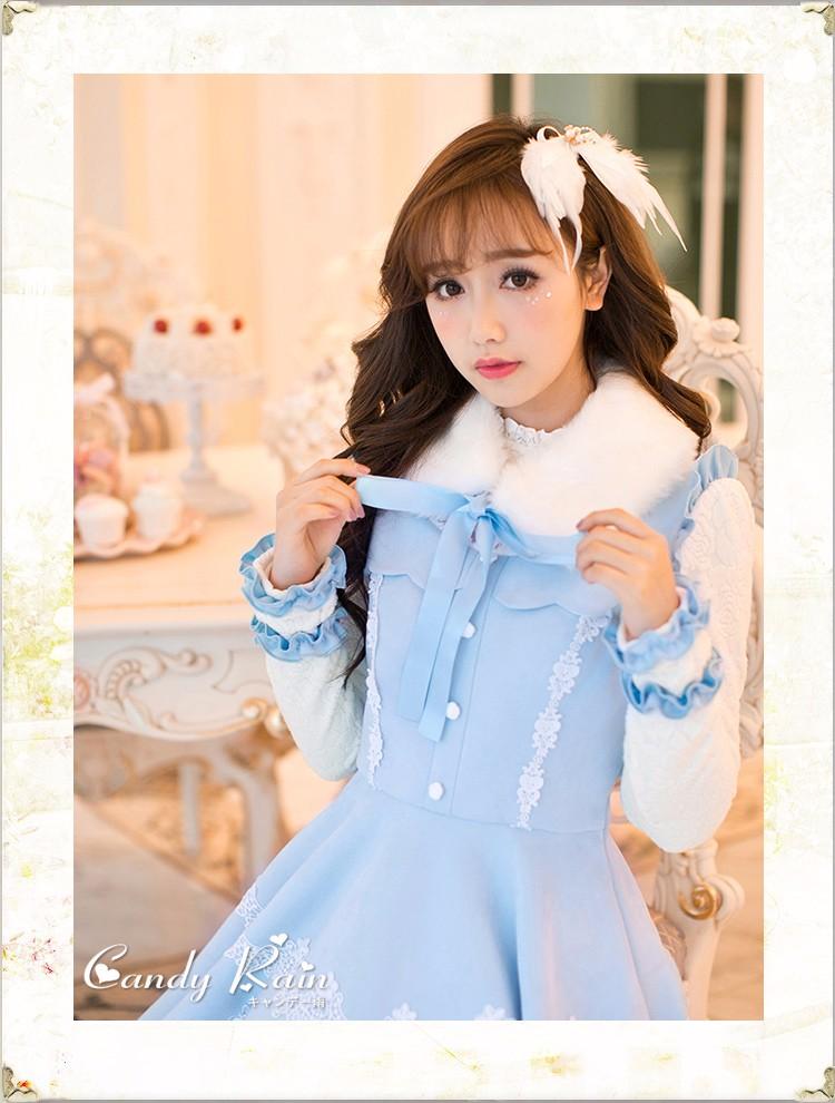 vestido Estoque Comprida lolita 8