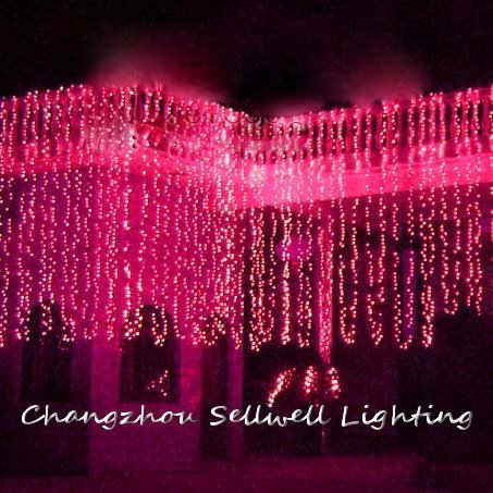 цена Christmas Gift Christmas Decorations New!led Electricity-saving Lamp Wedding Celebration Backdrop Product 3*8m Lighting H230