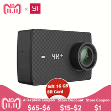 "Купить с кэшбэком International English YI 4K Plus Action Camera 4K+ USB3.0 155 Degree 2.19""   4K/60fps Ambarella Chip Sports Action Camera"
