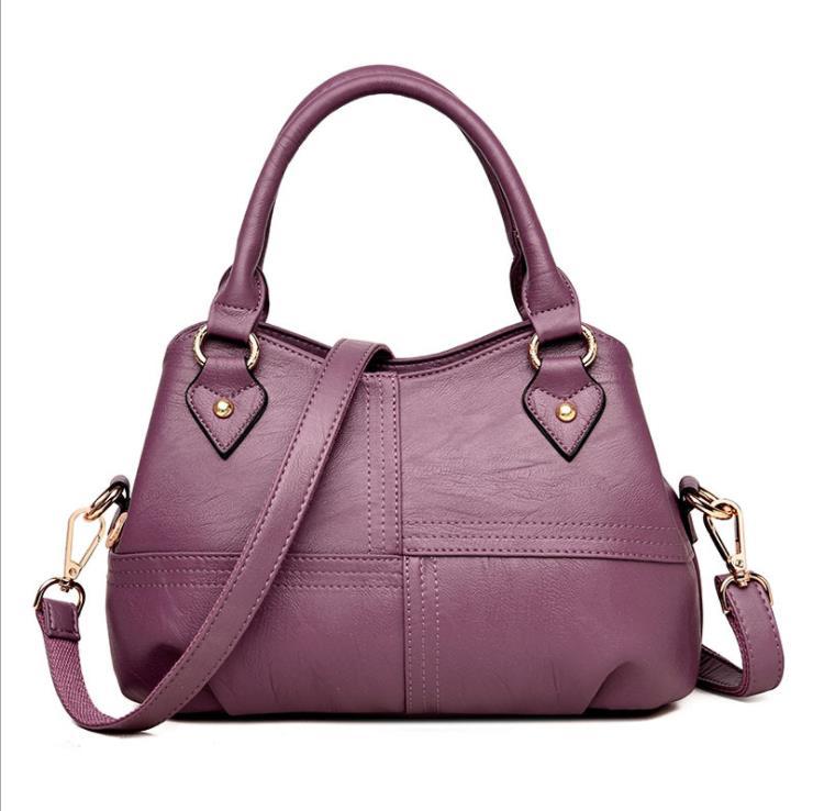 2019 fashion women s handbag 2018 new ladies bag Europe and America shoulder bag diagonal soft