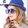BAVIRON Designer de Marca Óculos De Sol De Luxo Mulher HD Óculos Polarizados Retro Clássico Quadro TR90 UV400 Sunwear Eyewear Qualidade 2004