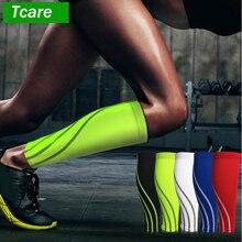 Tcare 1 ppiezas mangas de compresión de pantorrilla para hombres y mujeres-manga de compresión de piernas y espinillas para corredores, tablilla para ciclista