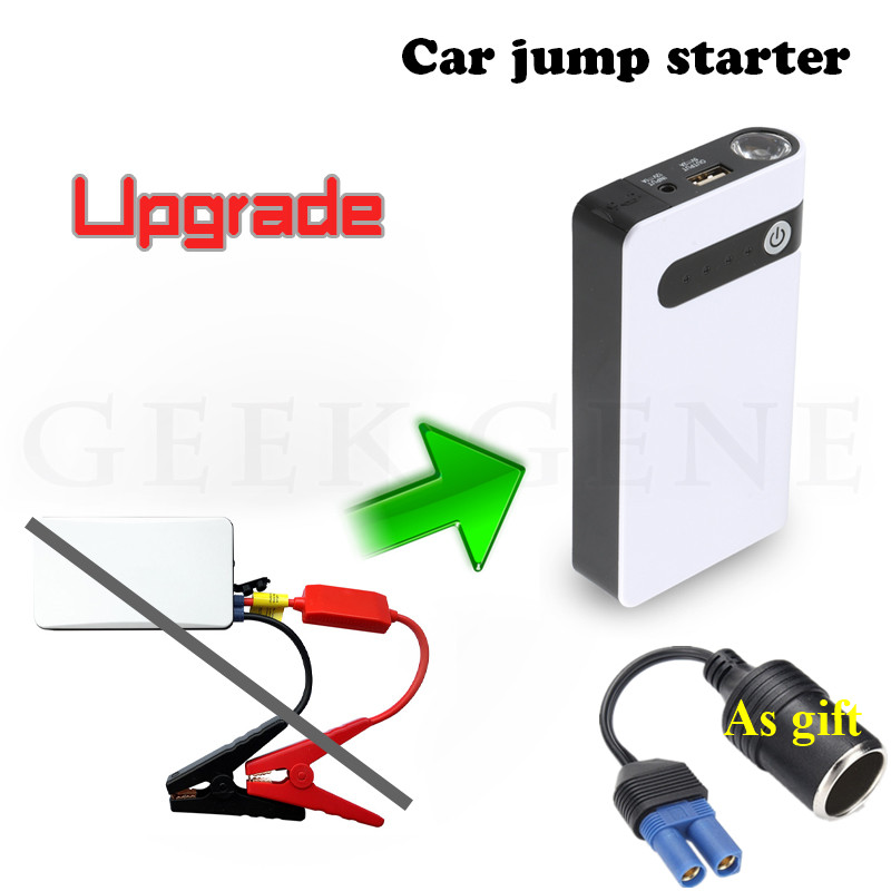 High Quality 12V Jump Starter 12000mAh Car Jumper Booster Power Bank Petrol Diesel Car Battery Charger Starting Diesel Buster CE cgig q7 high quality 12000mah power bank w lcd display led torch for iphone samsung more