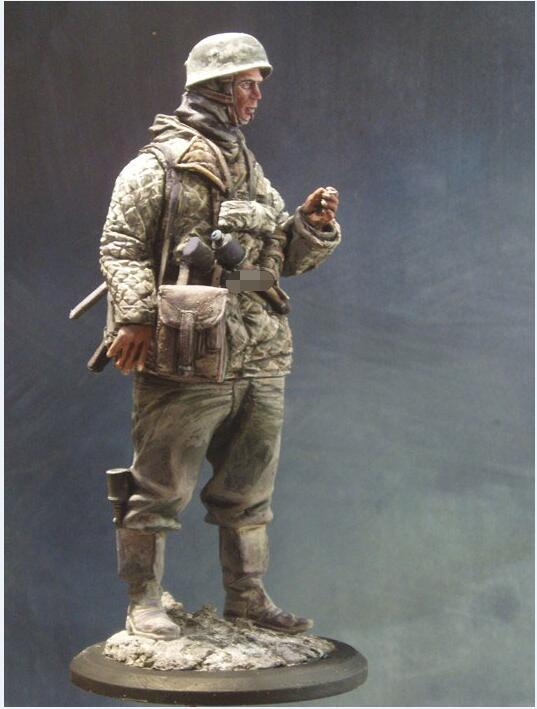 1/16 Para Soldier In Russia 120mm Winter  Toy Resin Model Miniature Resin Figure Unassembly Unpainted