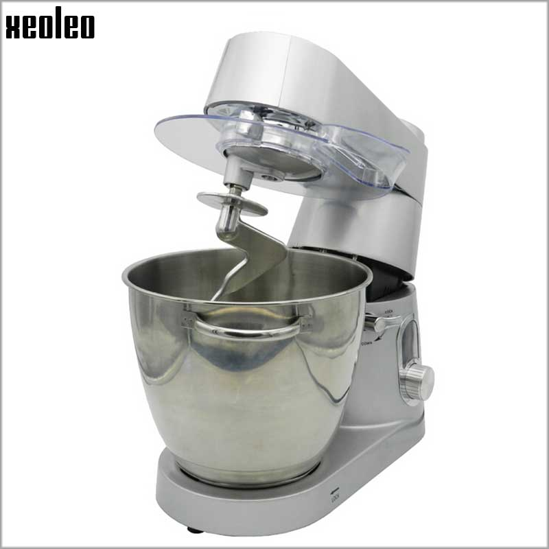 Xeoleo 7L Food Mixer 1500W Dough Mixer Kneading machine 6 speed 3 function Stand Mixer for egg/dough/cream home use Mix Blender