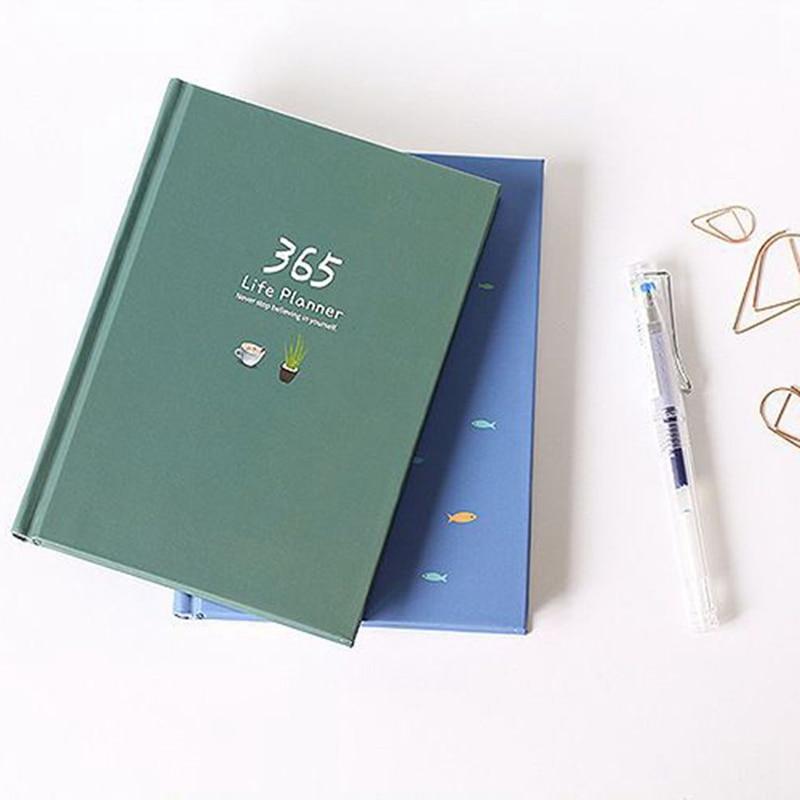 Office & School Supplies Gewissenhaft 365 Wöchentlich Planer Farbe Innenseiten Notebook Tagebuch Zeitplan Notebook Schule Büro Liefern Für Student Lehrer Schreibwaren Geschenk Hohe QualitäT Und Geringer Aufwand Notebooks